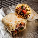 10 inch burrito with Guerrero and Pico
