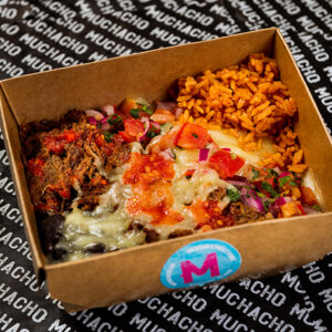 Naked Burrito-Cha Cha Chili and PDG