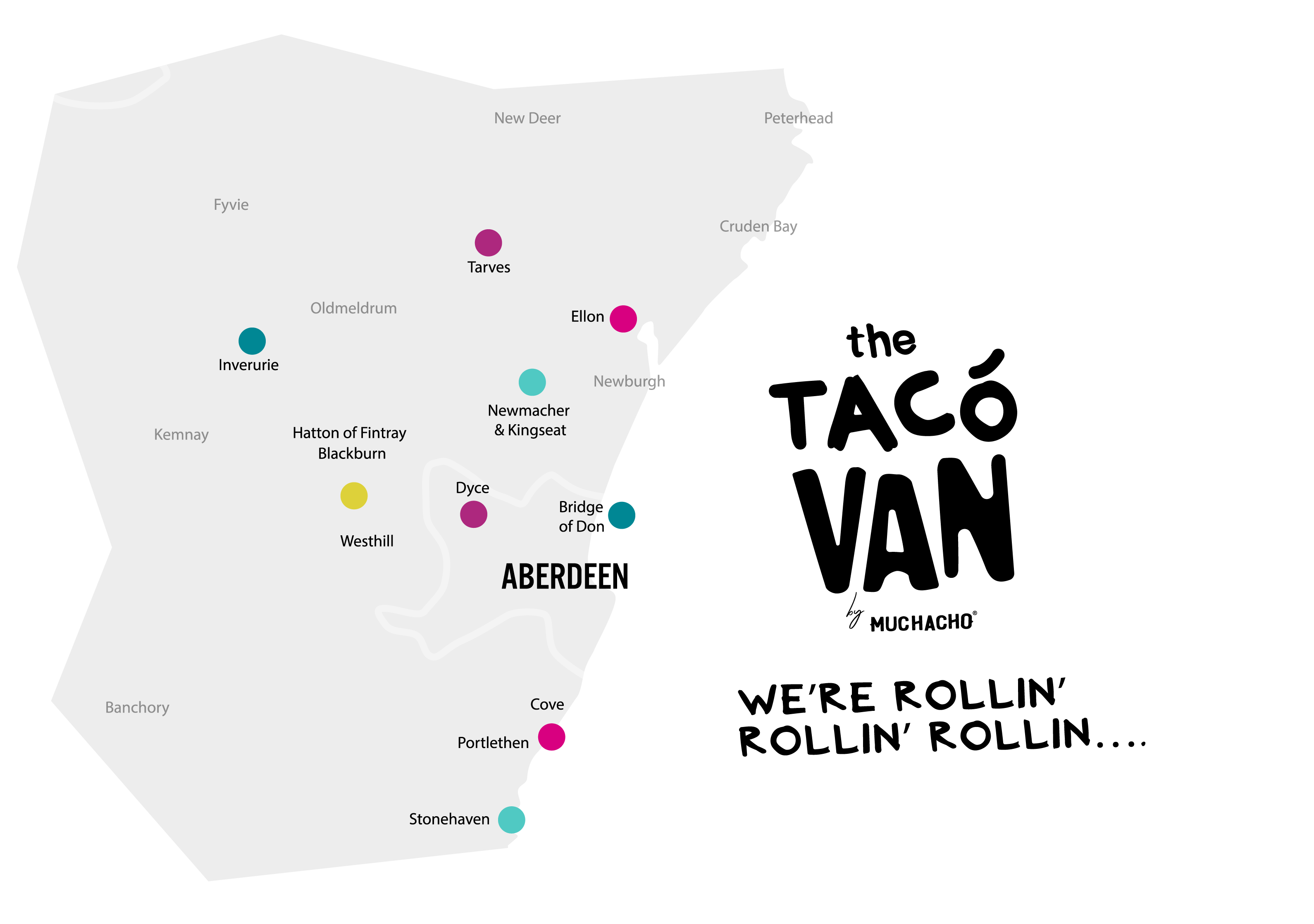 Taco Van North East Scotland Locations